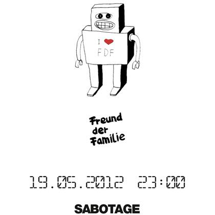 Flyer Etui Session: Freunde Der Familie at Sabotage Dresden on May 19th 2012