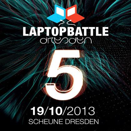 Laptopbattle Dresden 5 at Scheune on Oct 19th 2013