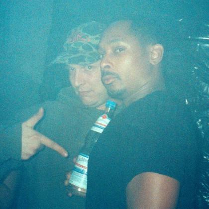 no U.F.O. tour /w Derrick May and DJ Doorkeeper at Flugzeugwerft Dresden October 1997