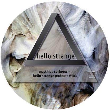 Hello Strange Podcast #103: Matthias Springer