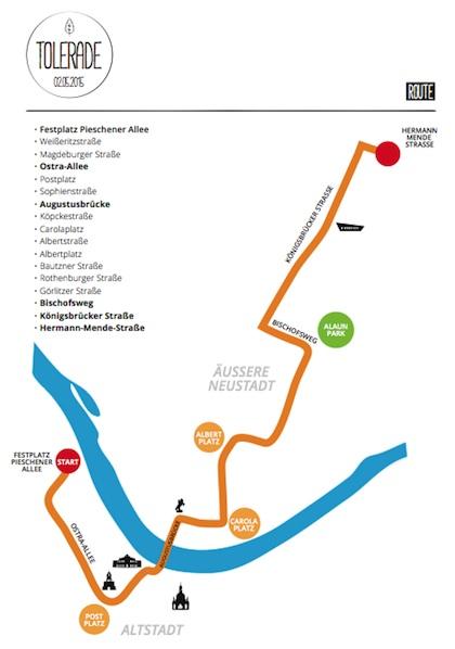 TOLERADE route